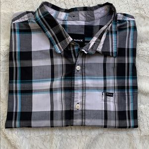 💎5/$25💎 Hurley Short sleeve button down